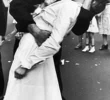 Times Square V/J-Day Kiss Sticker