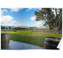 Jacobs's Creek Vineyard Poster