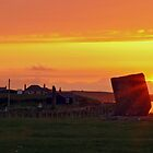 Neolithic Sunset by WatscapePhoto