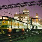 Indian Pacific at Central Station, Sydney by Michael John