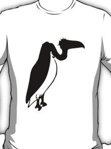 Black Vulture Silhouette T-Shirt