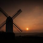 Sunset Jill Windmill, Clayton by Chester Tugwell