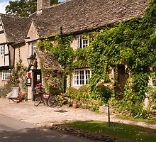 The Old Swan Inn Minster Lovell near Oxford by Nick Jenkins