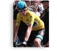 Chris Froome (2), Tour de France 2013 Canvas Print