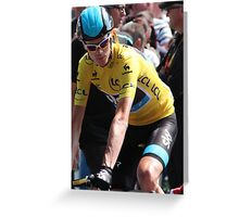 Chris Froome (2), Tour de France 2013 Greeting Card