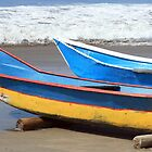 Two Wooden Fishing Boats by rhamm