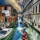 Venice Water Street by Dennis Granzow