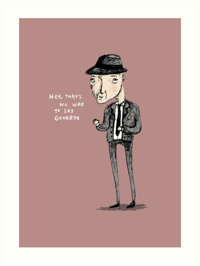 Leonard Cohen by Sophie Corrigan