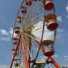 ferris wheel at fair by wolf6249107