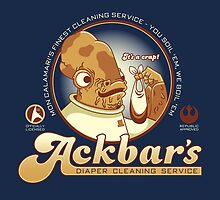 Ackbar's Diaper Cleaning by Matt Sinor