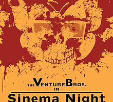 Sinema night Venture Bros Movie by DanielCepeda