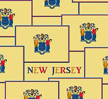 Smartphone Case - State Flag of New Jersey - Horizontal V by Mark Podger