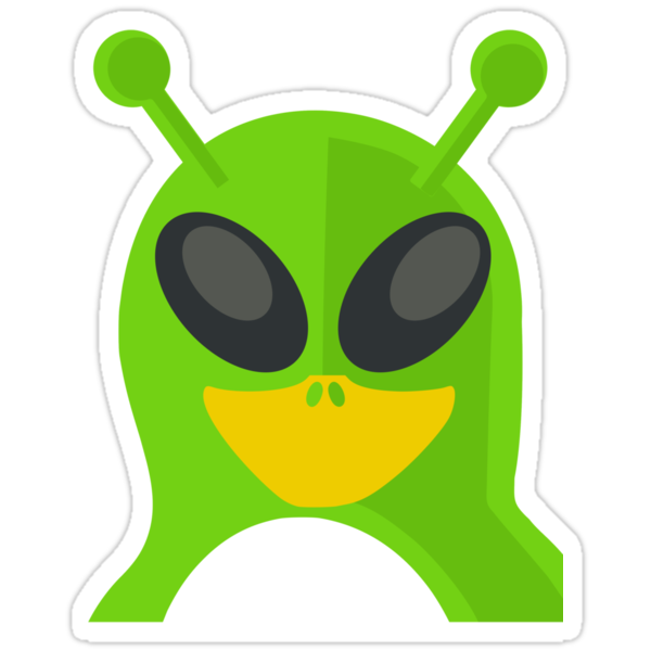 Alien Penguin by kwg2200