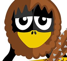 Caveman Penguin by kwg2200
