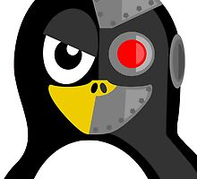 Cyborg Penguin by kwg2200