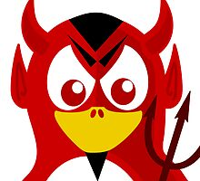 Devil Penguin by kwg2200
