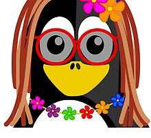 Hippie Penguin by kwg2200