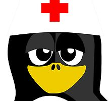 Nurse Penguin by kwg2200