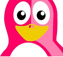 Pink Penguin by kwg2200