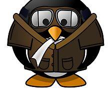 Pilot Penguin by kwg2200