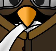 Pilot Penguin Sticker