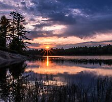 Sunset Massasauga Provincial Park by Pete5