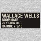 Scott Pilgrim - Wallace Wells' Name Card by JordanDefty