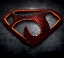 """The Letter J in the Style of """"Man of Steel"""" by BigRockDJ"""