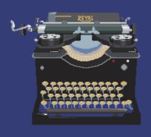 Pixel Typewriter Royal No 10 by thedailyrobot