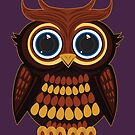 Friendly Owl - Purple by Adamzworld