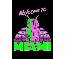 Welcome to Miami - II - Don Juan Photographic Print