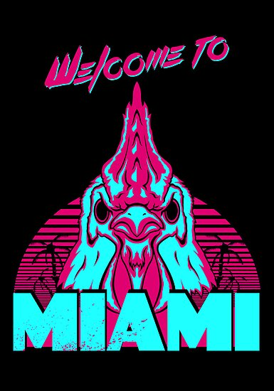 Welcome to Miami - I - Richard by James Camilleri