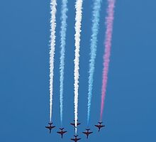 Red Arrows 2 iPhone Case by C P  v 2