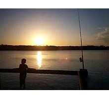 Yamba Sunset Photographic Print