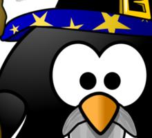 Magician Penguin Sticker