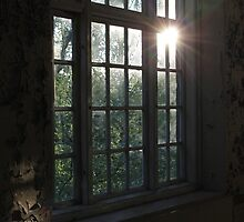 Abadnoned asylum. Old Lier Mental Hospital, Norway. Built 1921, closed 1985. Sunset. by UpNorthPhoto