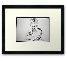 Anthea Turner Framed Print
