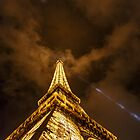 Eiffel Tower at Night by Nicholas Jermy
