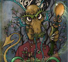 Tea Dragons- Grand Tea Master by Tom Brown
