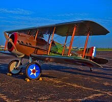 1917 Spad French WW1 Bi-Plane by TeeMack