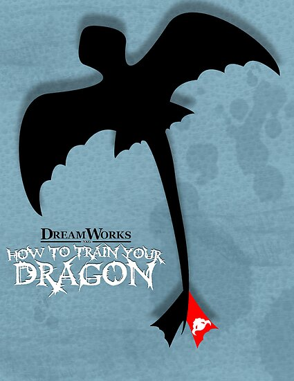 How to Train your Dragon Poster by Gothicat