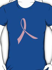 Simple Pink Ribbon T-Shirt