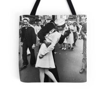 Times Square V/J-Day Kiss Tote Bag