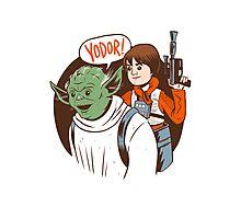 Yodor! Photographic Print