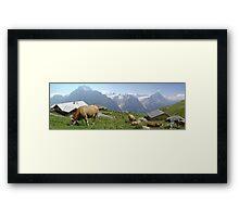 Quintessentially Swiss Framed Print
