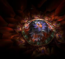 Fractal Petals by Virginia N. Fred