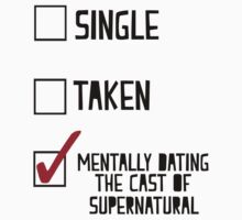 Mentally Dating The Cast of SPN by BethTheKilljoy