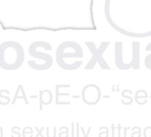 Sapiosexual Definition Sticker