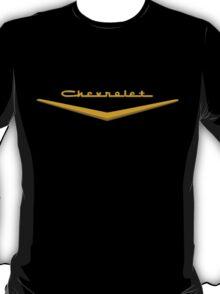 1957 Chevrolet Hood Script T-Shirt