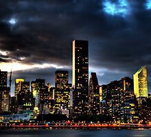 NYC Skyline by Albo92